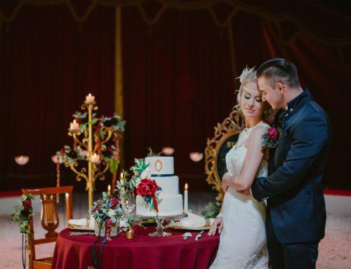 Eine Hochzeit unterm Zirkuszelt | eine Hochzeitsinspiration